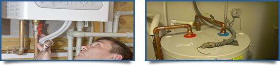 réparations de chauffe-eau